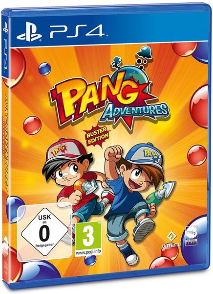 NBG Pang Adventures Buster Edition