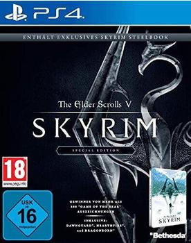 The Elder Scrolls V: Skyrim - Special Edition + Steelbook (PS4)