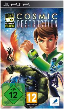 Ben 10 Ultimate Alien Cosmic Destruction (PSP)