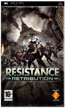 Resistance: Retribution Platinum (PSP)