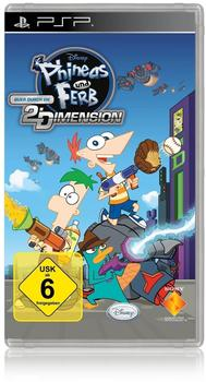 Phineas & Ferb - Quer durch die 2. Dimension (PSP)