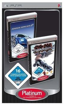 2 Games in 1 - Ridge Racer 2 + Tekken:Dark Resurrection (PSP)