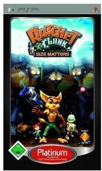 Ratchet & Clank: Size Matters (Platinum) (PSP)