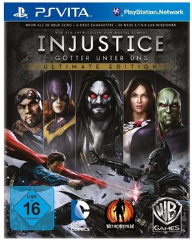 Interactive Injustice: Götter unter uns - Ultimate Edition (PS Vita)