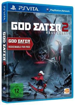 Bandai God Eater 2 Rage Burst (inkl. God Eater Resurrection) (PS Vita)