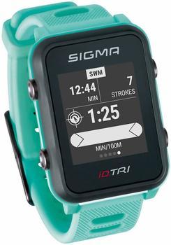Sigma iD.TRI neon blue