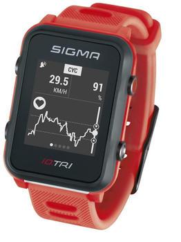 Sigma iD.TRI neon red