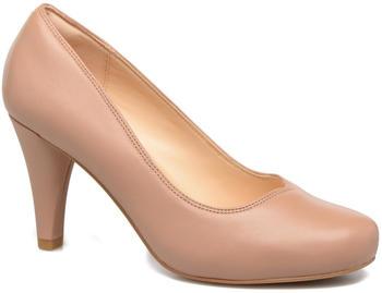 Clarks Dalia Rose nude leather