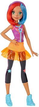 Barbie Die Videospiel-Heldin Freundin mit buntem Haar (DTW05)