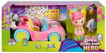 Mattel Die Videospiel-Heldin Pixel-Mobil Set (DTW18)