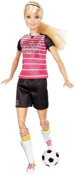 Barbie Made to Move - Fußballspielerin Blond (DVF69)