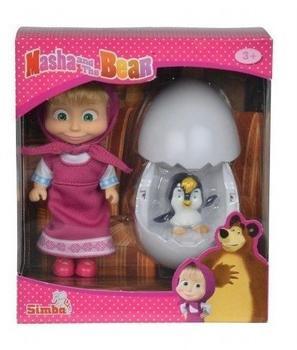 Simba Masha & Pinguin im Ei