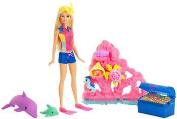 Barbie Magie der Delfine - Unterwasser-Set (FCJ29)