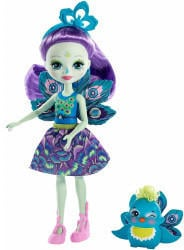Mattel Patter Peacock and Flap 15 cm