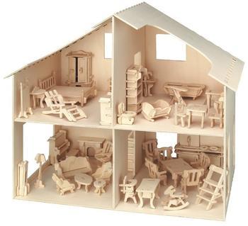 Pebaro Holzbausatz Puppenhaus