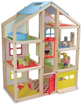 Melissa & Doug Mehrstöckiges Puppenhaus