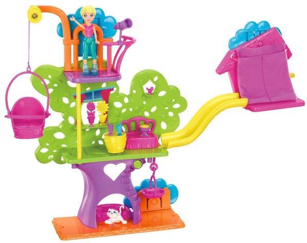 Mattel Polly Pocket Baumhaus pink (PP-7113)