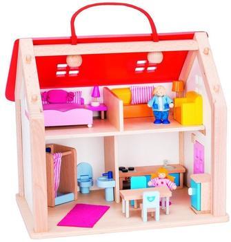 Goki Koffer-Puppenhaus mit Zubehör (51780)
