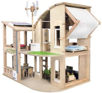 Plan Toys Öko Puppenhaus mit Möbeln