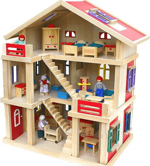 VDP Riesengroßes Puppenhaus