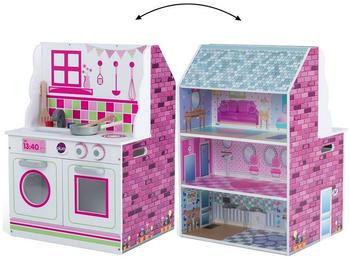 Plum Puppenhaus und Spielküche aus Holz 41070