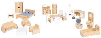 Pinolino Puppenhausmöbel-Set 20-tlg