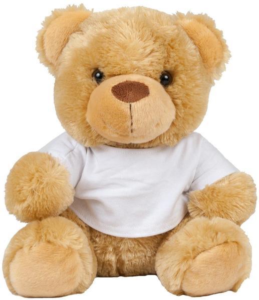 Mumbles Kinder Plüsch Teddybär mit T-Shirt (Small) (Creme)