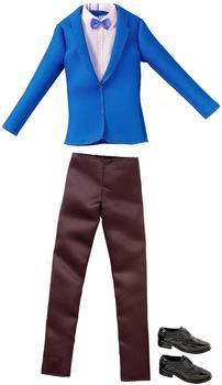 Mattel Barbie - Mode für Ken Puppe Kleidung - Set Gala Anzug blau schwarz