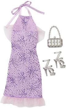 Mattel Barbie - Mode für Barbie Puppe Kleidung - Abendkleid Kleid lavendel