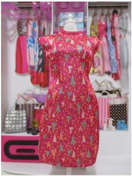 Mattel Barbie - Trend Mode für Barbie Puppe Kleidung - Sommer Kleid rot