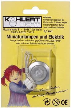 Kahlert Wandlampe mattsilber Ø30mm 10348 Puppenstuben