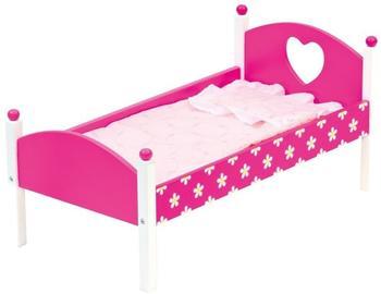 bino Puppenbett mit Bettwäsche