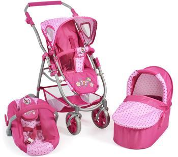 bayer-chic-2000-chic-2000-bayer-3in1-kombi-puppenwagen-emotion-all-in-sportwagen-dots-pink