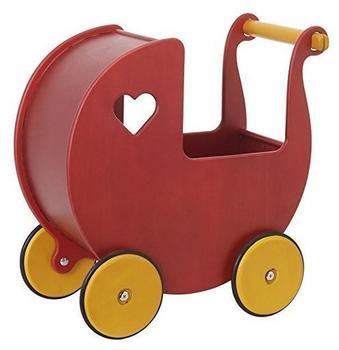 Moover Puppenwagen rot