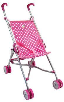 Bino Puppenwagen rosa