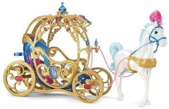 Mattel Disney Princess - Cinderella Pferd & Kutsche