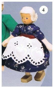 """Rülke Puppen für Puppenhaus, """"Großeltern"""""""