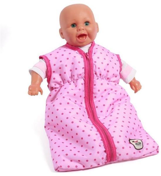 Dots Purple-Pink Kleidung & Accessoires Bayer Chic 2000 Puppentragegurt Deluxe Puppen & Zubehör