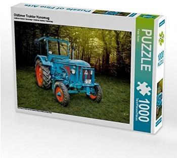 Calvendo Oldtimer Traktor Hanomag 1000 Teile Puzzle quer 640x480mm, Ro