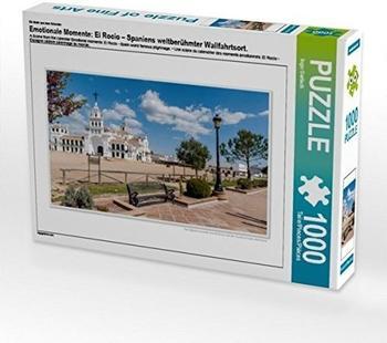Calvendo Ein Motiv aus dem Kalender Emotionale Momente: El Rocio – Spaniens weltberühmter Wallfahrtsort. 1000 Teile Puzzle quer 640x480mm, Gerlach Ingo; 7317766