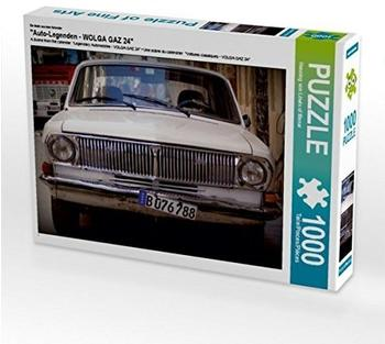 "Calvendo Ein Motiv aus dem Kalender ""Auto-Legenden - WOLGA GAZ 24"" 1000 Teile Puzzle quer Calvendo Mobilitaet)"
