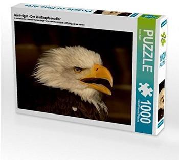 Calvendo Ein Motiv aus dem Kalender Der Weißkopfseeadler 1000 Teile Puzzle quer 640x480mm, Klatt Arno; 7292389