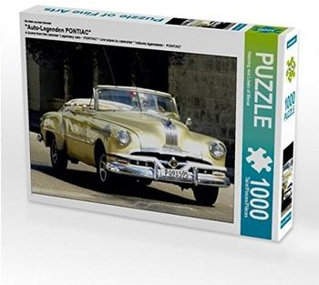 "Calvendo Ein Motiv aus dem Kalender ""Auto-Legenden PONTIAC"" 1000 Teile Puzzle quer Calvendo Mobilitaet)"