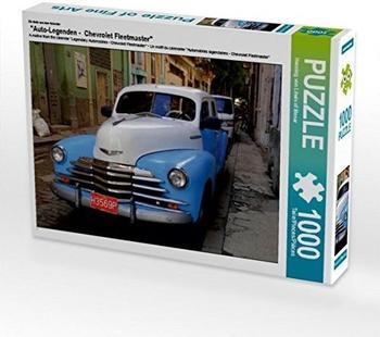"Calvendo Ein Motiv aus dem Kalender ""Auto-Legenden - Chevrolet Fleetmaster"" 1000 Teile Puzzle quer Calvendo Mobilitaet)"