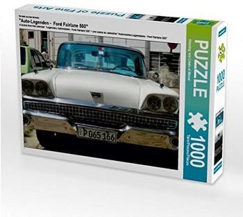 """Calvendo Ein Motiv aus dem Kalender """"Auto-Legenden - Ford Fairlane 500"""" 1000 Teile Puzzle quer Calvendo Mobilitaet)"""