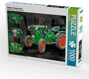 Calvendo Oldtimer Traktor Deutz 1000 Teile Puzzle quer Calvendo Technologie)