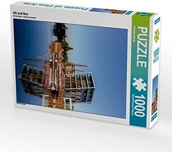 Calvendo Alt und 1000 Teile Puzzle hoch Calvendo Orte)