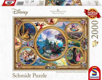Schmidt-Spiele Thomas Kinkade Disney Dreams Collection