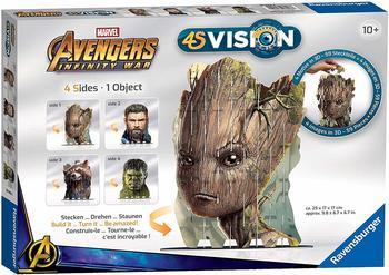 Ravensburger 4S Avengers Infinity War Groot & Co