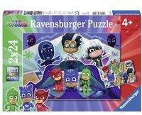 Ravensburger PJ Masks: PJ Masks retten den Tag. Puzzle 2 x 24 Teile